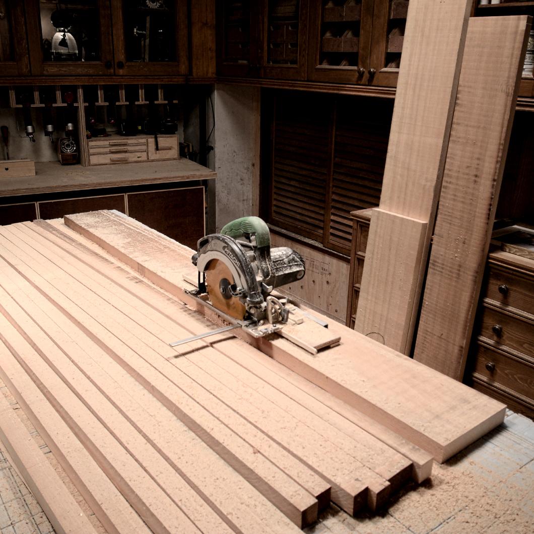 材木 カット